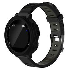 Cubierta de Silicona Protector para Garmin Forerunner 235 735XT Reloj GPS Negro