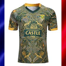 Maillot Homme Coupe du Monde Rugby XV  2019 Springboks AFRIQUE DU SUD Jersey