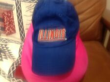 Super rare university of illinois combo hat and latex face paint mask only one