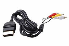 Hellfire Trading Composite AV Gold Plated Cable for Xbox Original Classic