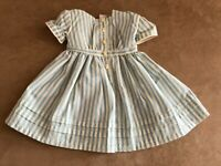 Kirsten Authentic Striped Summer Dress American Girl Doll fishing outfit clothes