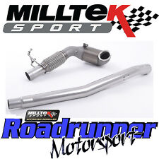 """Milltek Audi TTS MK3 2.0TFSi Quattro Exhaust Cast Downpipe Sports Cat 3"""" Fits OE"""