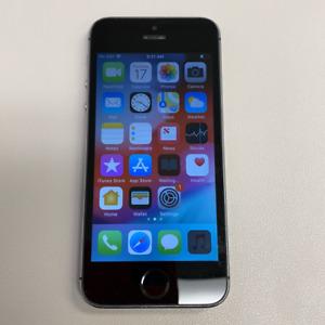 Apple iPhone 5S - 16GB - Gray (Unlocked) (Read Description) CF1086