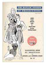 The Haslam System of Dresscutting No. 19 1940's  - Copy