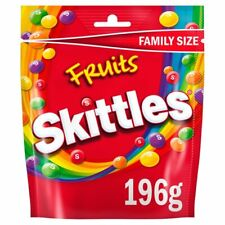 3x Skittles Fruits Pouch 196G