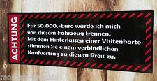 "Autoverkauf Aufkleber ""Euro"" Autohandel Ankauf KFZ Sticker Visitenkarte JDM OEM"