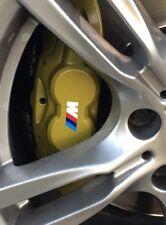 M Bremssattel Aufkleber M Power Sticker Bremse BMW 48mm  f11 5er 3er 6er weiß 4x