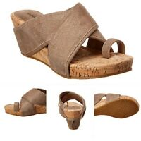 Donald Pliner Gala Suede Wedge Sandal Women's 7