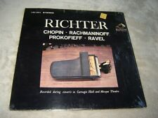 RCA LSC-2611 Stereo LP NM in shrink Richter piano Chopin, Ravel, Rachmaninoff