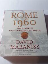 Rome 1960 Olympics That Changed the World David Maraniss 5 CD Audio Book. NEW!!