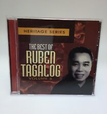 Heritage Series: The Best Of Ruben Tagalog Vol 6 Filipino Cd