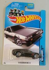 Hot Wheels  '81 DELOREAN DMC-12 Gray 2014
