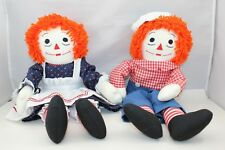 "Raggedy Ann & Andy ~ Handmade ~ 18"" ~ Play Quality"