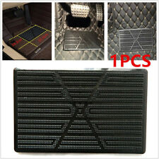 Car Floor Mat Carpet Scuff Guard Black Foot Rest Pedal Plate Pad Driving Postion
