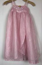 Disney Store Pink Tinkerbell Fairy Costume Dress Wings Sz L 10/12 Dress Up Play