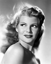 RITA HAYWORTH LEGENDARY ACTRESS - 8X10 PUBLICITY PHOTO (NN-091)