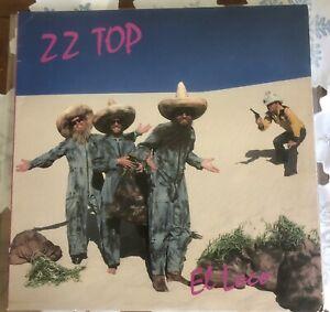 ZZ Top El Loco Vinyl LP Record Album 1981 READ DESCRIPTION