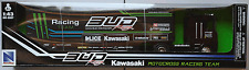 "Newray-Renault Magnum ae500 Race truck ""Bud Racing Kawasaki"" 1:43 nuevo/en el embalaje original"