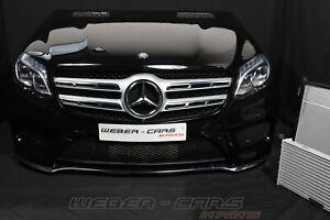 Mercedes X166 GLS AMG Bumper Cooling Fan Front Package Bonnet LED Headlights