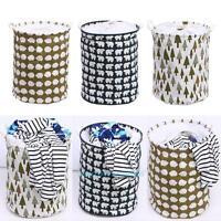 Durable Cotton Linen Laundry Basket Storage Box Household Clothes Washing Hamper