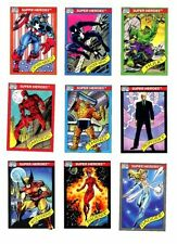 Impel 1990 Marvel Universe Series 1 (You Pick Pick 2 Cards)