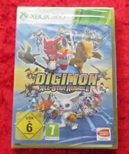Digimon All-Star-Rumble, XBox 360 Spiel, Neu, deutsche Version