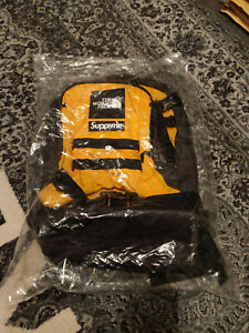 Supreme X The North Face RTG Backpack - Yellow/ Black Brand New