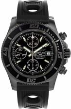 New Breitling Superocean Chronograph Black Steel Men's Watch  M13341B7/BD11-200S