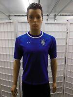 Brazil 2000-2002 Blue Jersey Nike XS Ronaldo Ronaldinho Rivaldo