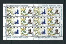 SLOVENIA 1992 DISCOVERY of AMERICA sheetlet VF MNH