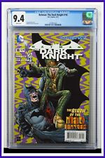 Batman The Dark Knight #18 CGC Graded 9.4 DC May 2013 White Pages Comic Book.