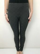 METALICUS grey textured legging pants one size