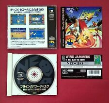 Flying Power Disc - NEO GEO - CD - SNK - USADO - MUY BUEN ESTADO