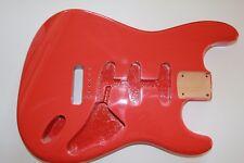 Göldo US red alder Roterle Strat Body Korpus fiesta red Gitarrenbau 1,9-2,1 Kg