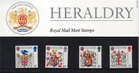 GB 1984 500TH ANV OF THE COLLEGE OF ARMS PRESENTATION PACK NO 150