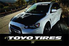 """TOYO TIRES  Vinyl Windshield Banner decal sticker 38""""x4"""""""