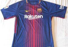 Camiseta Maglia Shirt Fútbol BARCELONA Nike 5 Sergio Busquets Rakuten 2017 2018