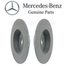 Mercedes W204 C204 C250 C300 Pair Set of Left & Right Rear Disc Brake Rotors OES