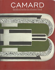 Catalogue CAMARD Art Deco Design Ceramique ceramic Henri de Vallombreuse