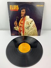 ELVIS PRESLEY -PURE GOLD 33 RPM RECORD ALBUM -ORIGINAL 1975 RELEASE ANL1-0971(e)