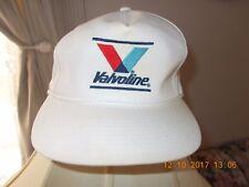 VINTAGE WHITE VALVOLINE LOGO BASEBALL CAP