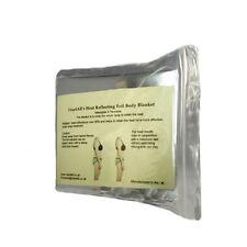 10 X Blanke de lámina reflectante del calor T-Emergencia Manta suvival-envolturas corporales, Unisex