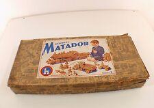 KORBULY Austria Matador Boite 3 Construction bois avec notices RARE