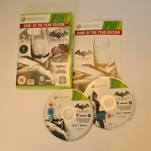 Batman: Arkham City GOTY Game Of The Year Edition - Xbox 360 - Complete
