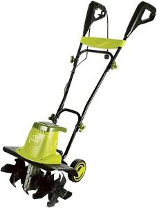 Sun Joe TJ603E 16-Inch 12-Amp Electric Tiller and Cultivator Lime Green & Black!