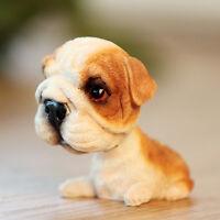 Mini Puppy English Bulldog Dog / Bobbing Head Dog / Bobble Head Toy Doll Decor