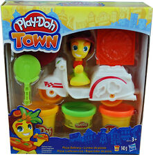 Play-Doh Softknete Spielset Town Pizza-Lieferservice