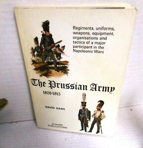 ALMARK BOOK The Prussian Army 1808-1815 op 1972 1st Ed