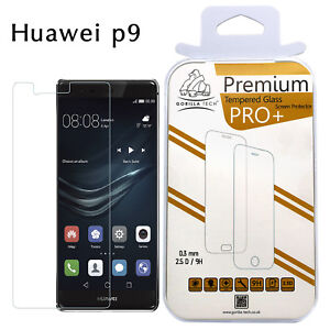 Genuine Gorilla Tempered Glass Screen Protector Film Top Quality For Huawei P9