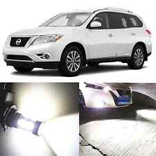 Alla Lighting Fog Light H11 H8 Super White LED Bulb for 04~17 Nissan Quest Rogue